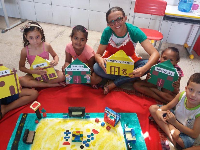 O Sucesso Da Educação Infantil Em Tempo Integral De Porteiras